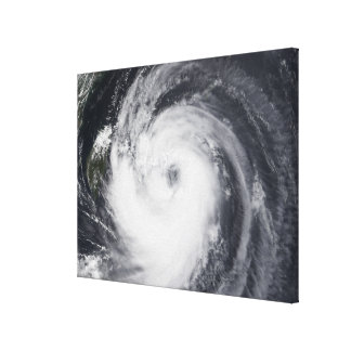 Typhoon Chaba in the western Pacific Ocean Canvas Print