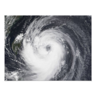 Typhoon Chaba in the western Pacific Ocean Photo Print