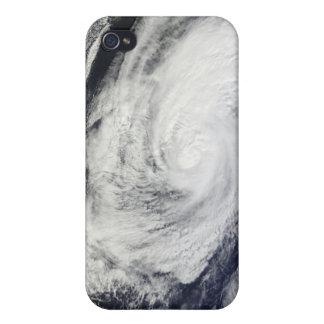 Typhoon Chaba over the Ryukyu Islands, Japan iPhone 4 Case