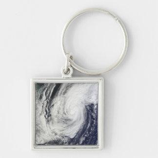 Typhoon Chaba over the Ryukyu Islands Japan Keychains