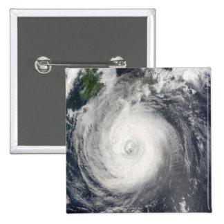 Typhoon Chaba Pinback Button