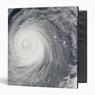 Typhoon Choi-wan south of Japan, Pacific Ocean 3 Ring Binder