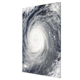 Typhoon Choi-wan south of Japan, Pacific Ocean Canvas Print