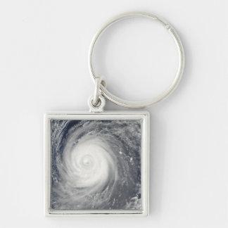 Typhoon Choi-wan south of Japan, Pacific Ocean Keychain