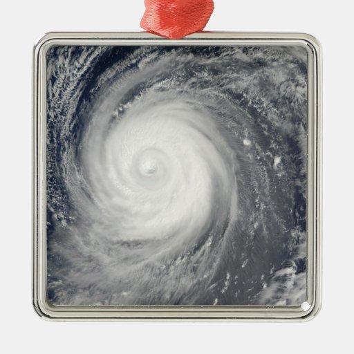 Typhoon Choi-wan south of Japan, Pacific Ocean Christmas Ornament