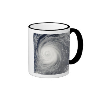 Typhoon Choi-wan south of Japan, Pacific Ocean Ringer Mug