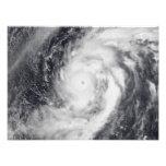 Typhoon Damrey in the western Pacific Ocean Photo Print