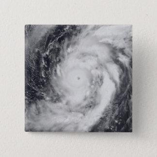 Typhoon Damrey in the western Pacific Ocean Pinback Button