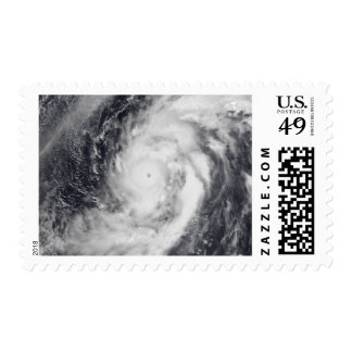 Typhoon Damrey in the western Pacific Ocean Postage