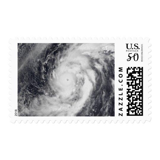 Typhoon Damrey in the western Pacific Ocean Postage