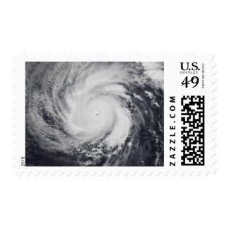 Typhoon Faxai in the western Pacific Ocean Postage Stamp
