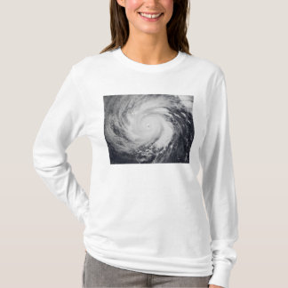 Typhoon Faxai in the western Pacific Ocean T-Shirt