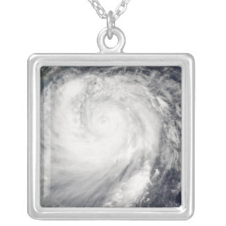 Typhoon Haitang Silver Plated Necklace