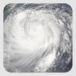 Typhoon Haitang Square Sticker