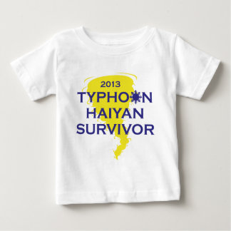 Typhoon Haiyan Survivor 2013 Philippines Baby T-Shirt