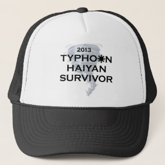 Typhoon Haiyan Survivor 2013 Philippines Trucker Hat