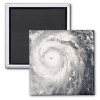 Typhoon Jangmi off Taiwan and the Philippines Refrigerator Magnet
