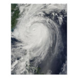 Typhoon Jangmi Poster