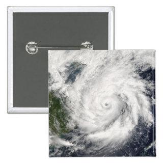 Typhoon Kai-Tak 2 Inch Square Button