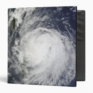 Typhoon Lupit off the Philippines 3 Ring Binder