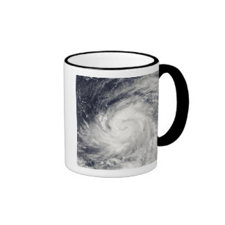 Typhoon Lupit over the western Pacific Ocean Coffee Mug
