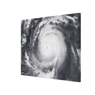 Typhoon Maemi in the Western Pacific Ocean Canvas Print