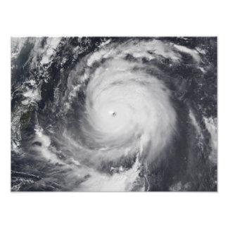 Typhoon Maemi in the Western Pacific Ocean Photo Print
