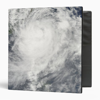 Typhoon Morakot over Taiwan Binder