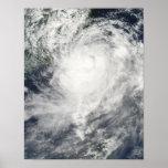 Typhoon Morakot over Taiwan Poster