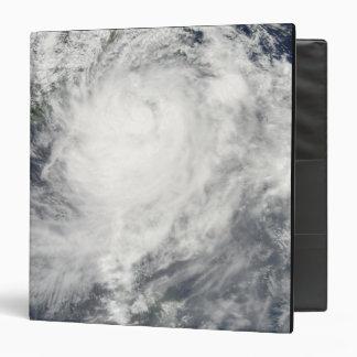 Typhoon Morakot over Taiwan Vinyl Binders