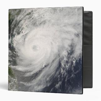 Typhoon Neoguri approaching China 3 Ring Binder