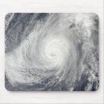 Typhoon Nida south-southwest of Iwo Jima Mouse Pad
