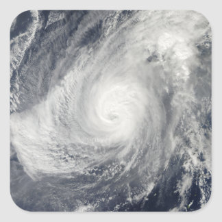 Typhoon Nida south-southwest of Iwo Jima Square Sticker