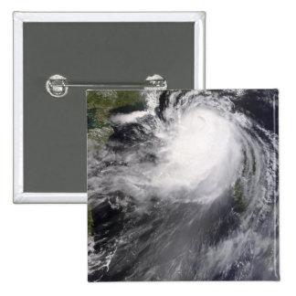 Typhoon Nuri approaching China 2 Inch Square Button