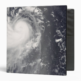 Typhoon Nuri approaching the Philippine Islands 3 Ring Binder