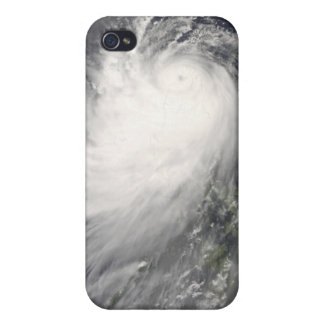 Typhoon Nuri over the Philippine Islands iPhone 4 Cover