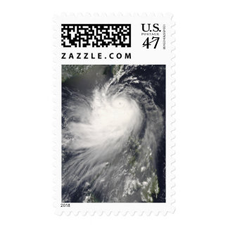 Typhoon Nuri over the Philippine Islands Postage