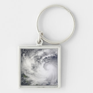 Typhoon Parma 2 Silver-Colored Square Keychain