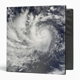 Typhoon Parma heading westward Vinyl Binder