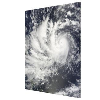 Typhoon Parma heading westward Stretched Canvas Prints