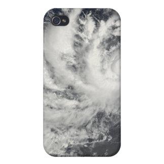 Typhoon Parma heading westward iPhone 4 Cover