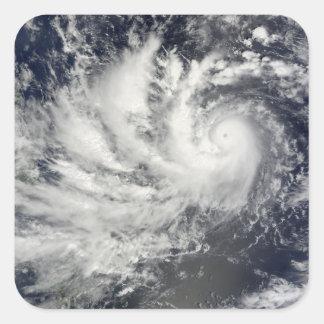 Typhoon Parma heading westward Square Sticker