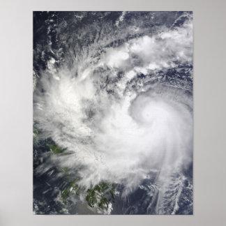 Typhoon Parma Poster