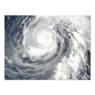 Typhoon Phanfone 2 Photo Print