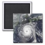 Typhoon Sinlaku 2 2 Inch Square Magnet
