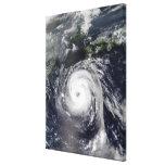 Typhoon Sinlaku 2 Canvas Print
