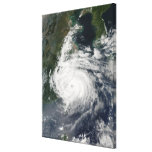 Typhoon Sinlaku Gallery Wrapped Canvas