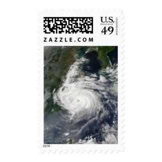 Typhoon Sinlaku Postage Stamps