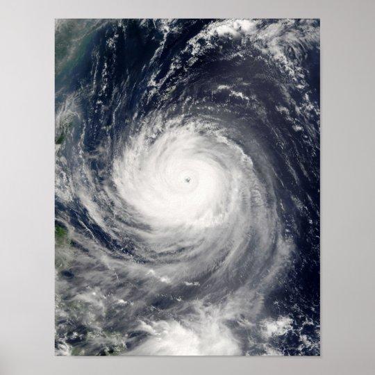 Typhoon Talim Poster