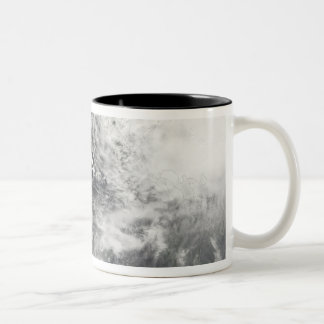 Typhoons Mitag and Hagibis Two-Tone Coffee Mug